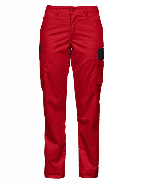 Women Cargo Pants, red