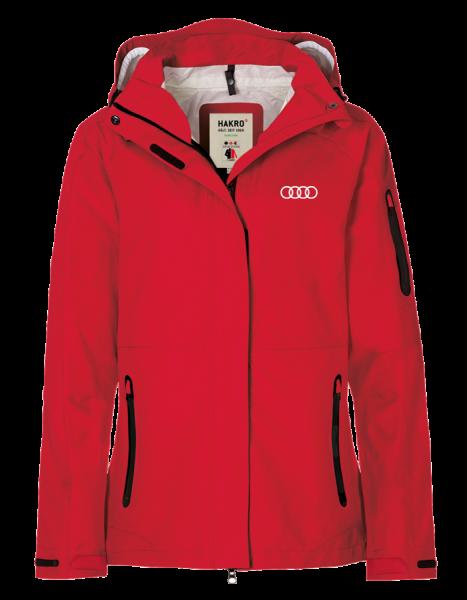 3-in-1 Damen Jacke, rot