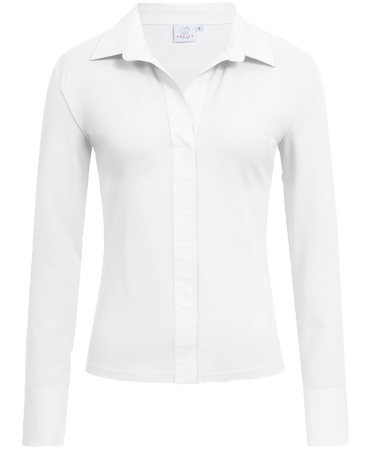Women´s shirt blouse, casual, longsleeve, white