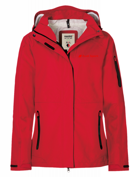 Audi Sport 3-in-1 Women Jacket, red