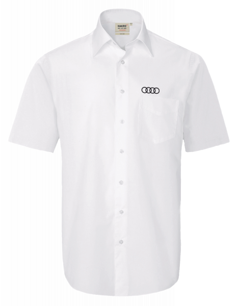 Men´s shorts-leeve Shirt, white