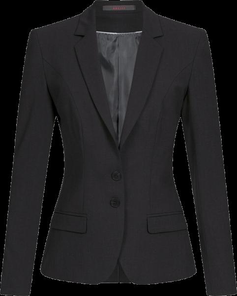 Damen Blazer, Premium, slimfit, schwarz