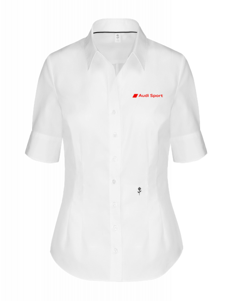 Sport short-sleeve Blouse, tailored, white