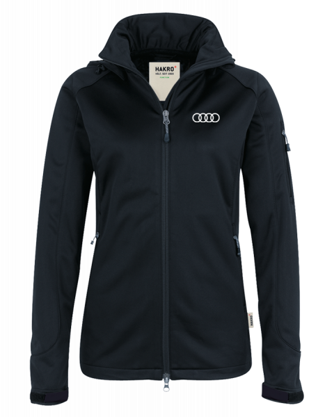 Women Softshelljacket, black