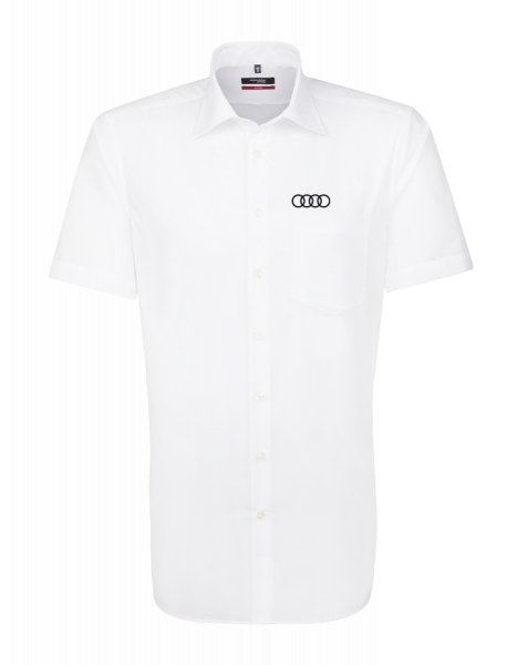 Seidensticker short-sleeve modern Shirt, white