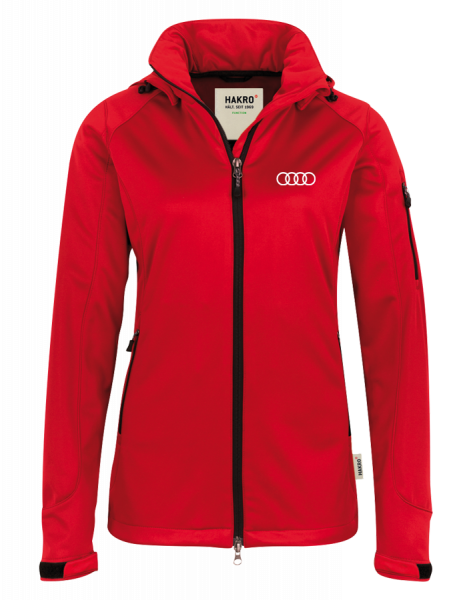 Women Softshelljacket, red