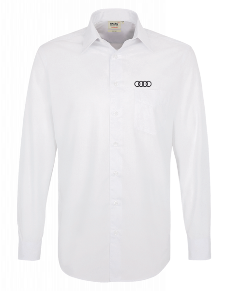 Men´s long-sleeve Shirt, white