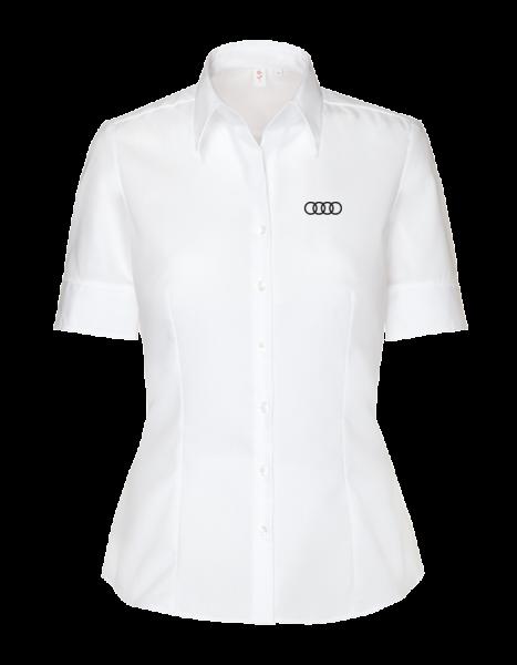 Seidensticker short-sleeve modern Blouses, white