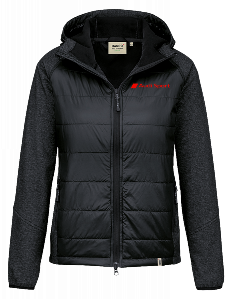 Sport Men Hybrid-Jacket, black