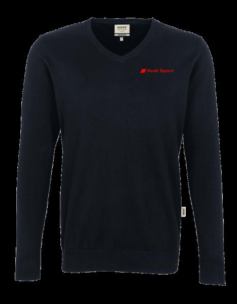 Audi Sport Men´s V-Pullover, black