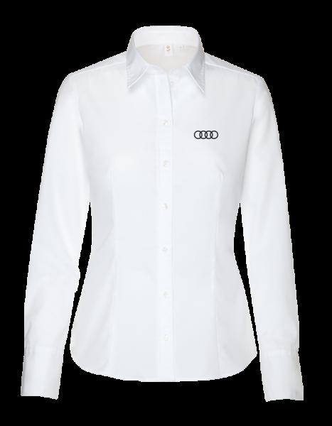 Seidensticker long-sleeve modern Blouse, white