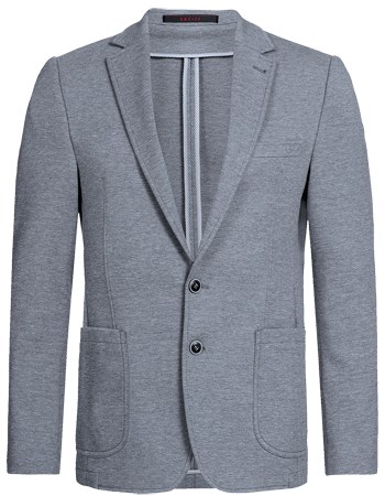 Men´s jersey jacket, regular fit,