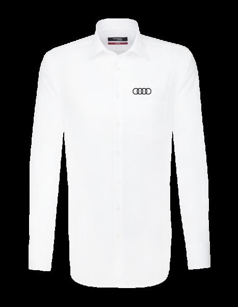 Seidensticker long-sleeve modern Shirt, white