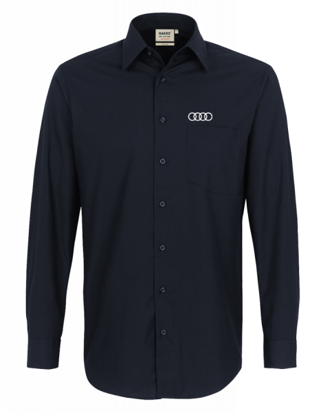 Men´s long-sleeve Shirt, black