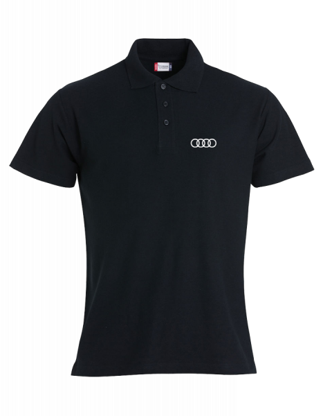 Men´s Polo, Classic, black