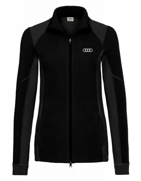 Women Stretchfleece Jacket, black