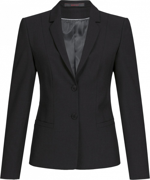 Damen Blazer, Premium, regular, schwarz