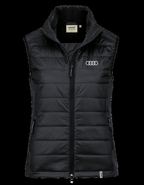 Women Hybrid-Vest, black
